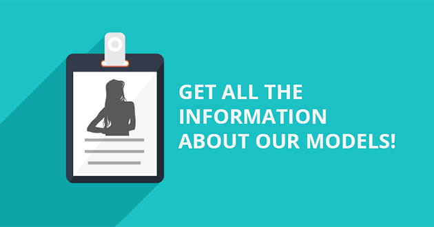 Get all the information about our models!