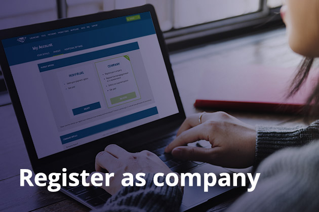 0 - Register as company