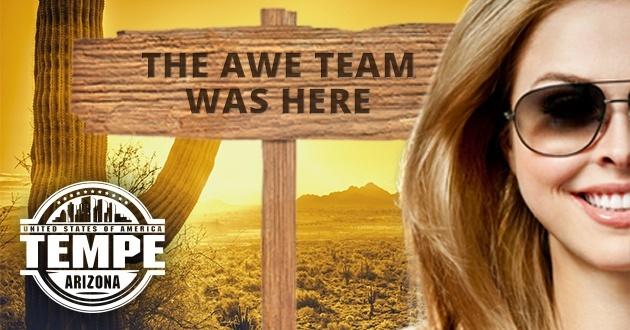 The AWE Team @ Phoenix Forum