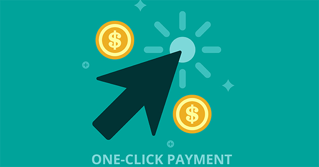 Simplify sign-ups and purchases with the One-Click payment!
