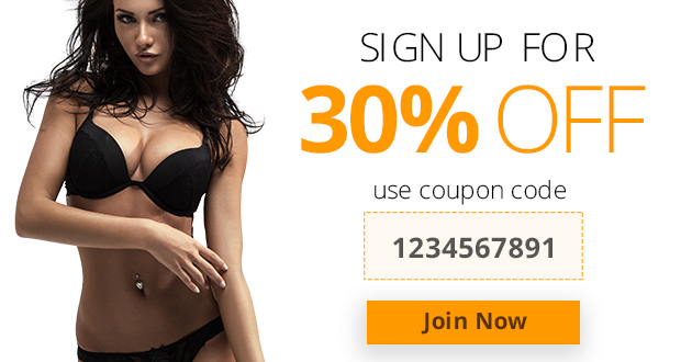 A sleek and sexy new coupon code for the WL4 sites