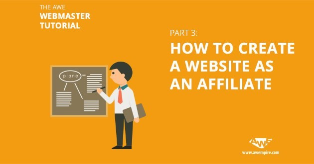 How to create a website as an affiliate